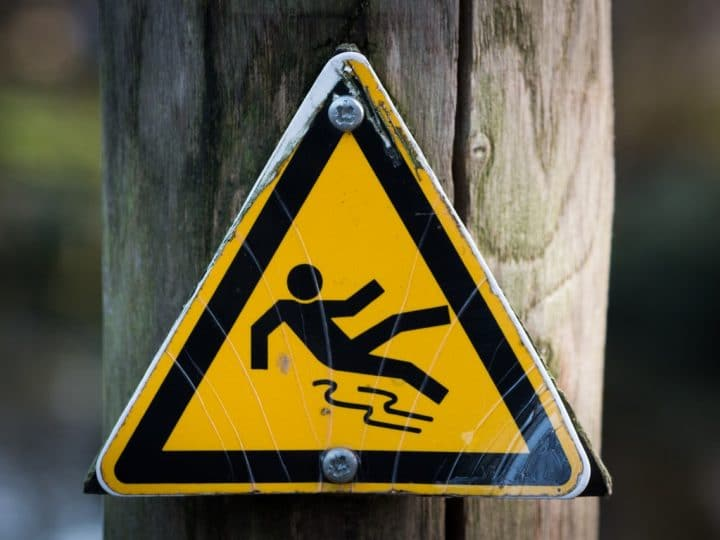 What to Do After a Slip-and-Fall Accident Inside the University